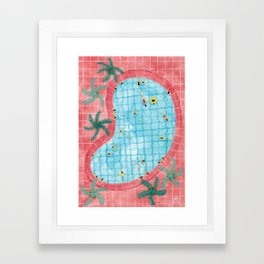 Kidney pool Framed Art Print
