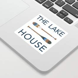 The Lake House Sticker