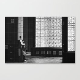 Train Station Canvas Print