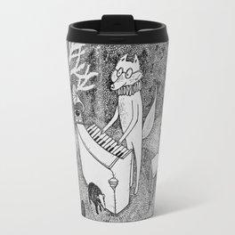 Fox Piano Travel Mug