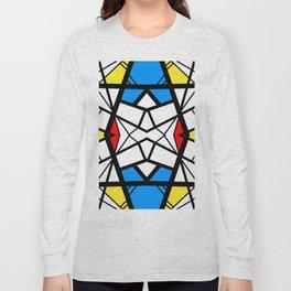 Shattered - geometric graphic design Long Sleeve T-shirt