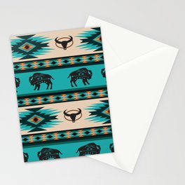 American Native Pattern No. 125 Stationery Cards