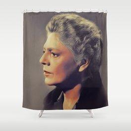 Ethel Barrymore, Vintage Actress Shower Curtain