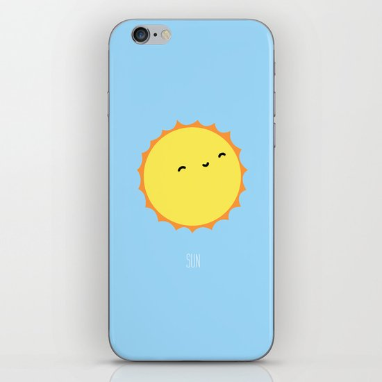 The Sun iPhone & iPod Skin