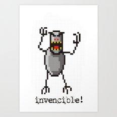 Invencible! Art Print