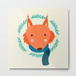 foxy II Metal Print