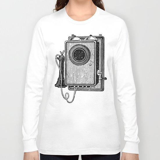 Old telephone 2 Long Sleeve T-shirt