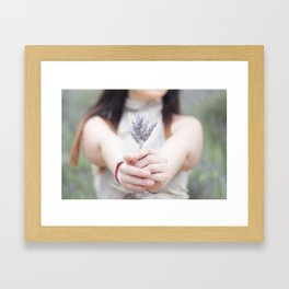 Rosmarinus Framed Art Print