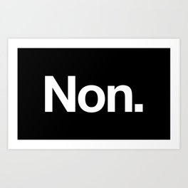 Non Art Print