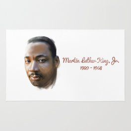 Martin  Luther King Rug