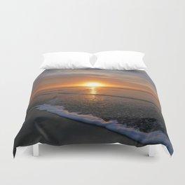 Sun-kissed Sea Duvet Cover