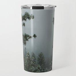 Backwoods Winter: Ponderosa Pines, Washington Travel Mug