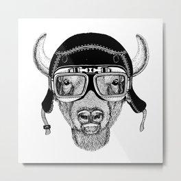 Zubr Speed Rebel Metal Print