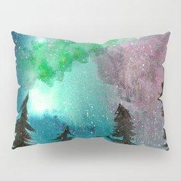 Northern Lights - Mint Green Palette Pillow Sham
