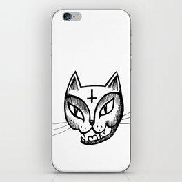 Satan Kitty iPhone Skin