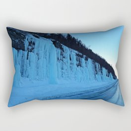 Awesome Ice Wall Rectangular Pillow
