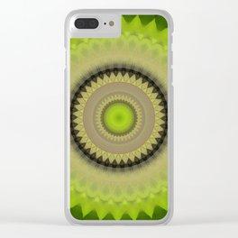 Recreational Maylanta Mandala 107 Clear iPhone Case