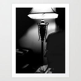 Film Noir Father Art Print