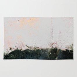 abstract smoke wall painting Rug