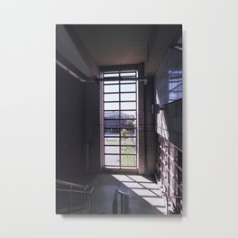 berks, light Metal Print