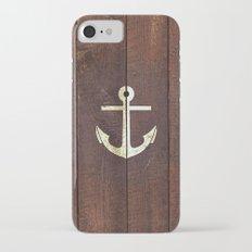 Anchor Wood iPhone 7 Slim Case