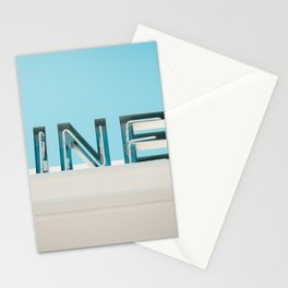 Diner fluo Stationery Cards