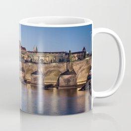 Prague Castle and Charles Bridge Coffee Mug