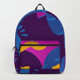 Beyond The Path/Clouds and Mountains/Big Heart Illuminated/Sunset of a Tropical Island Backpack