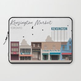 Kensington Market 2 - Toronto Neighbourhood Laptop Sleeve