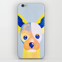 chihuahua iPhone & iPod Skins featuring Chihuahua  by Adriannedesignss