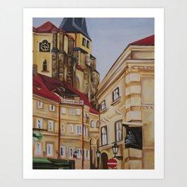 Prague, CZ Art Print
