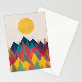Uphill Battle Stationery Cards