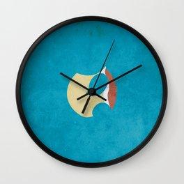 007 sqrtl Wall Clock