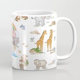 Noahs Ark Animals Coffee Mug