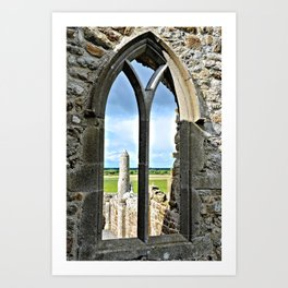 View from the Nave Art Print