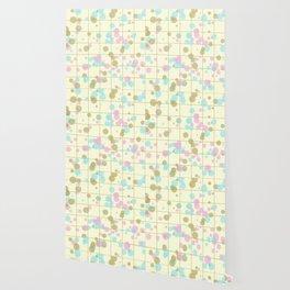 Spotted geometric pattern Wallpaper