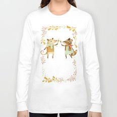 Cheers! From Pinknose the Opossum & Riley the Raccoon Long Sleeve T-shirt