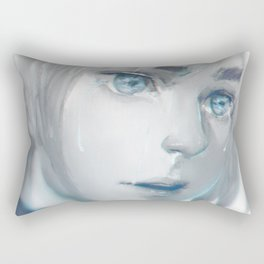 The shores of freedom Rectangular Pillow