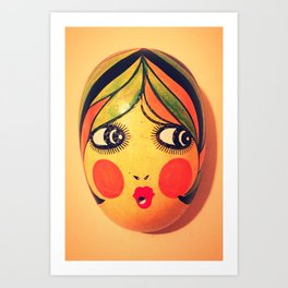 Rosy Cheeks Art Print