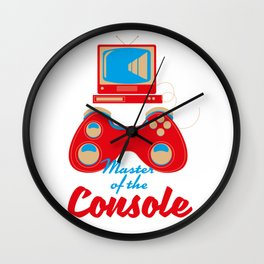 Master of the console Wall Clock
