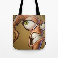 video games Tote Bags featuring Triangles Video Games Heroes - EarthWorm Jim by s2lart
