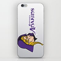 nfl iPhone & iPod Skins featuring Minnesota Anakins - NFL by Steven Klock
