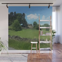 country landscape Holmfirth Wall Mural