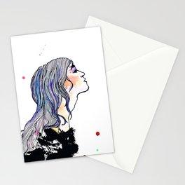 Ein Mädchen. Stationery Cards