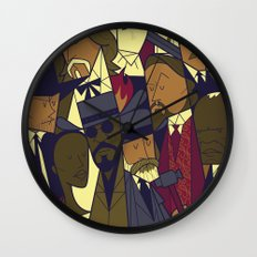 Django Unchained Wall Clock