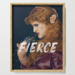Fierce - Feminist Serving Tray