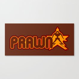 Prawn Star Canvas Print