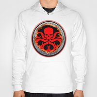 hydra Hoodies featuring Hail Hydra by Sdog1982