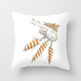 Robo[scape] 3 Throw Pillow
