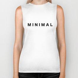 MINIMAL T-Shirt Vol. II Biker Tank
